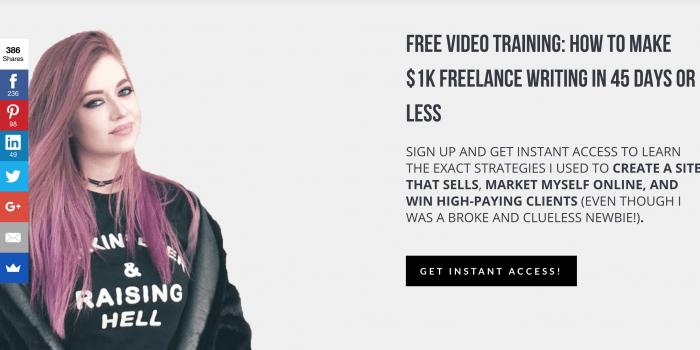 Perde il lavoro, diventa freelance, inizia a guadagnare $5,000 al mese (dopo un problema di salute) 1