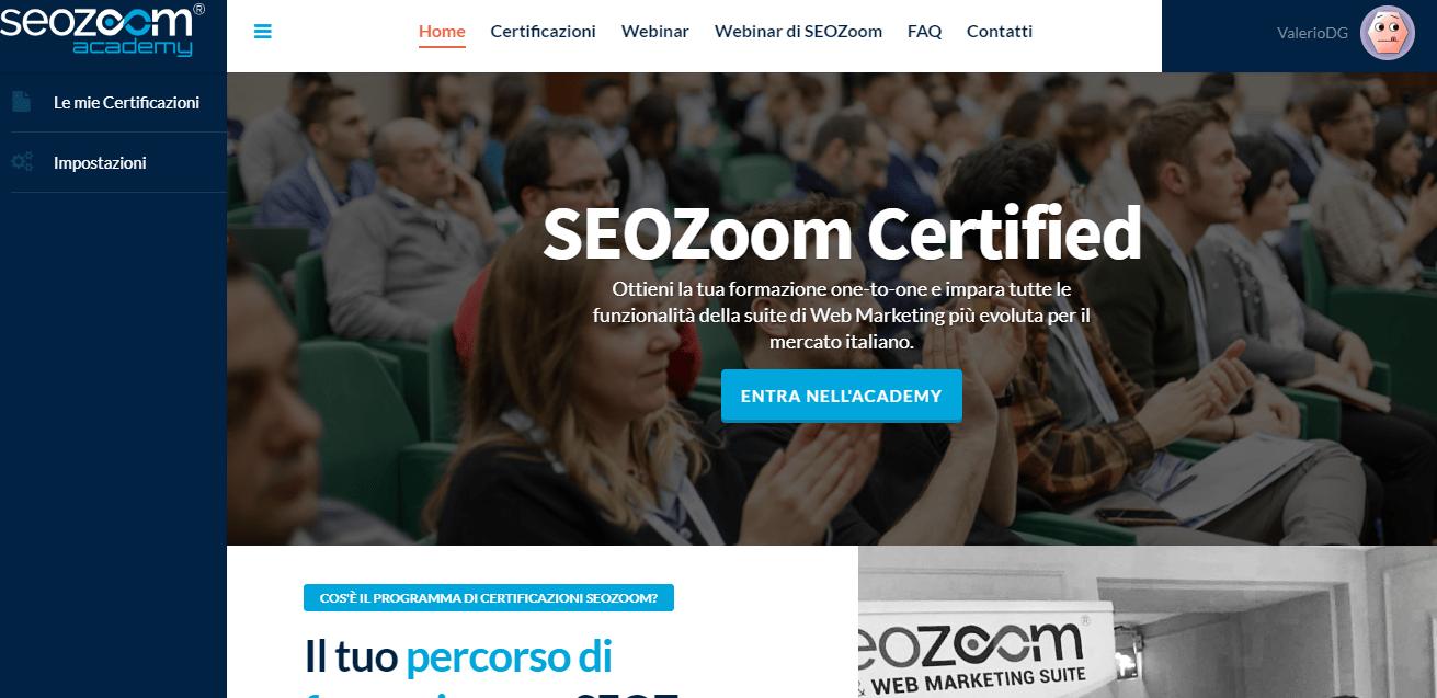 Recensione Seozoom - La suite SEO per il mercato italiano 18