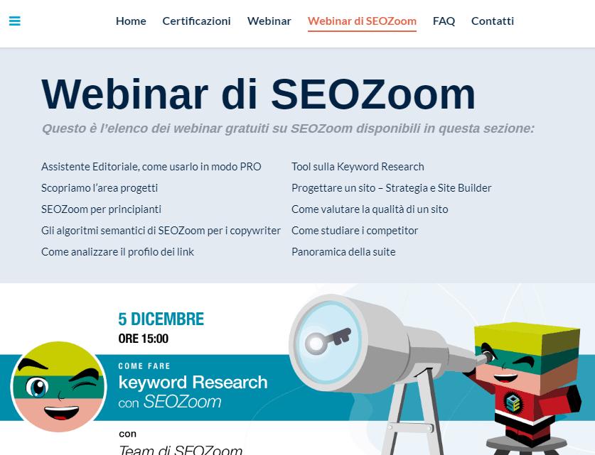 Recensione Seozoom - La suite SEO per il mercato italiano 19