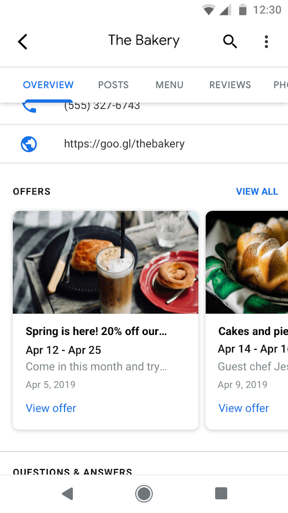 Google My Business Offerte