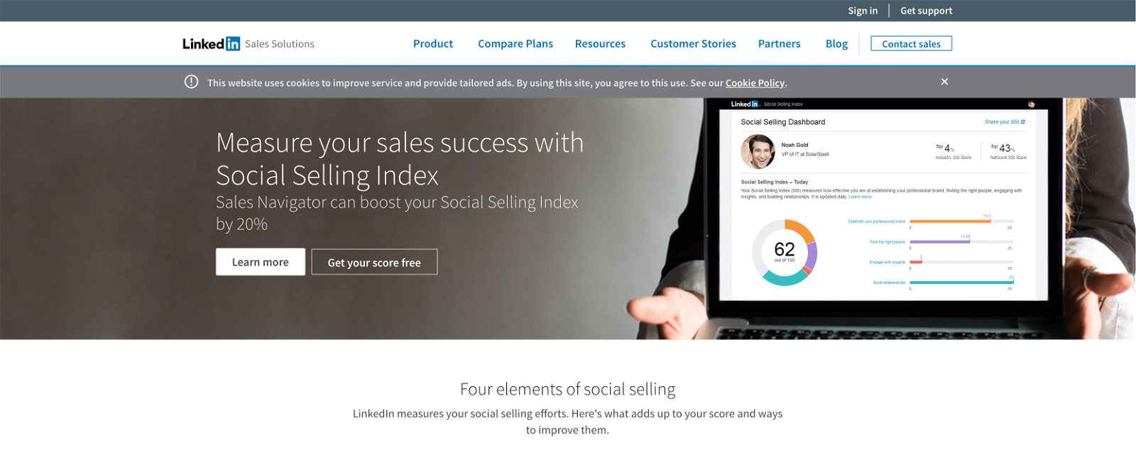 social-selling-index-dashboard
