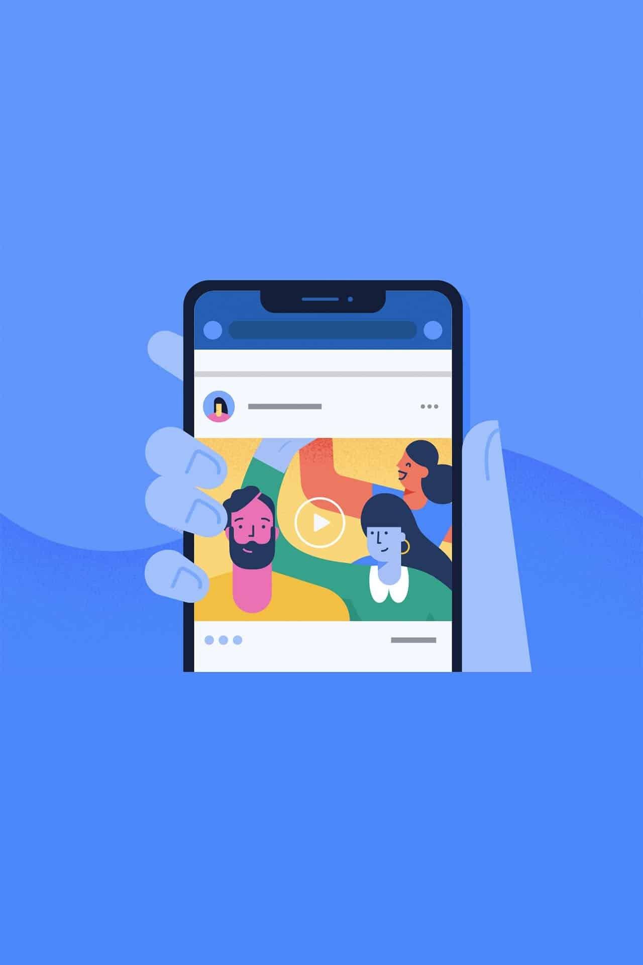Aggiornamento ranking contenuti video Facebook