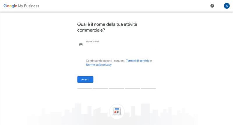 google my business iscrizione
