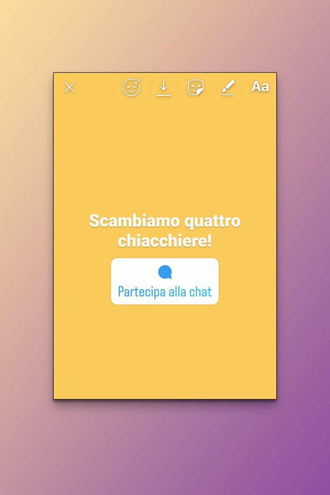 Instagram introduce Sticker chat