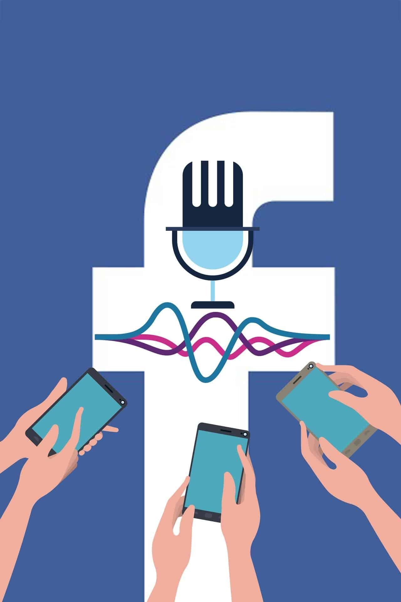 facebook ascolta audio messenger
