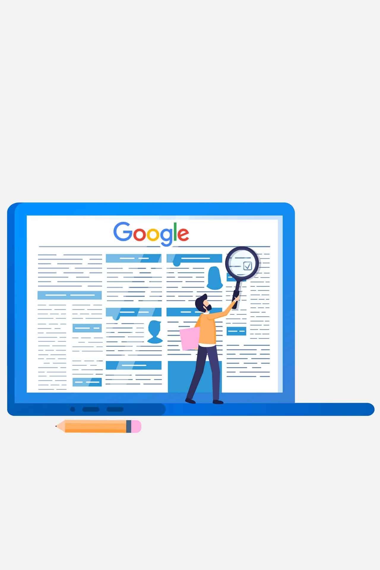 google test highlight contenuti