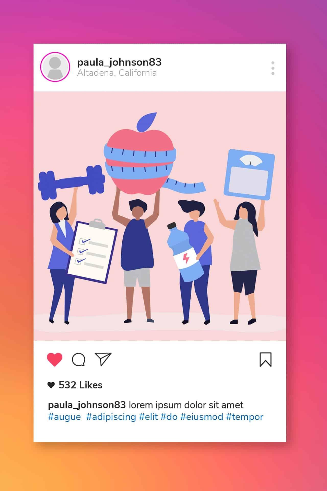 instagram prodotti dimagranti