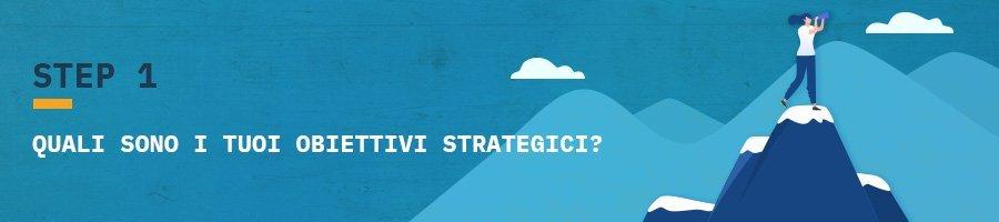 definizione obiettivi strategici