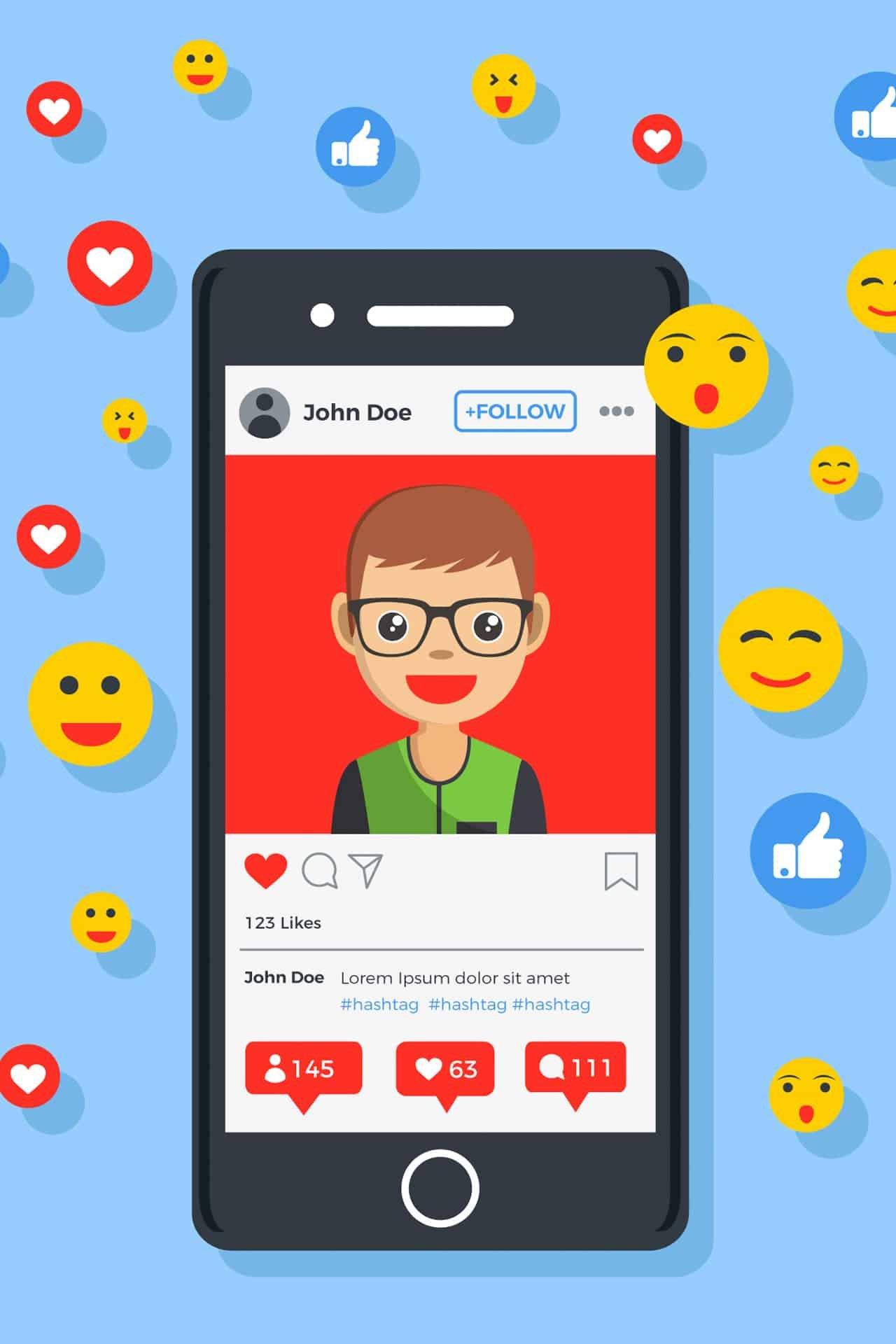 Emoji: Instagram sta testando le reaction nei direct