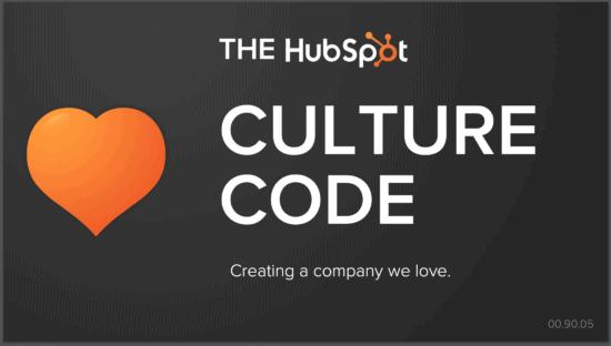 culture deck di hubspot