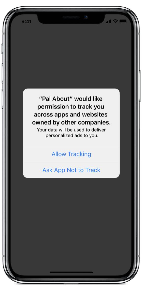 abilita tracciamento iOS 14