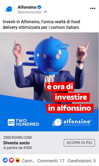 Alfonsino: come chiudere un crowdfunding da €350k (in soli 3 giorni) 7