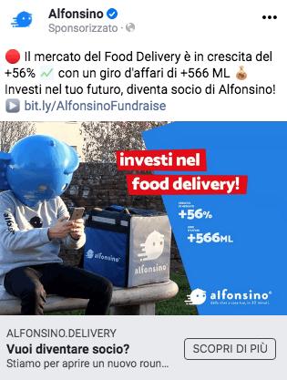 Alfonsino: come chiudere un crowdfunding da €350k (in soli 3 giorni) 6