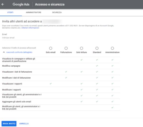 Google-ADS accesso