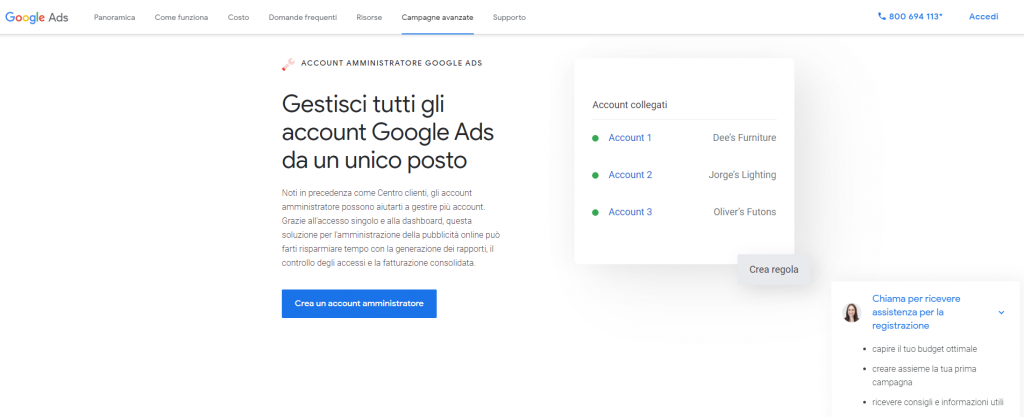 Google-Ads-più-account-cliente-