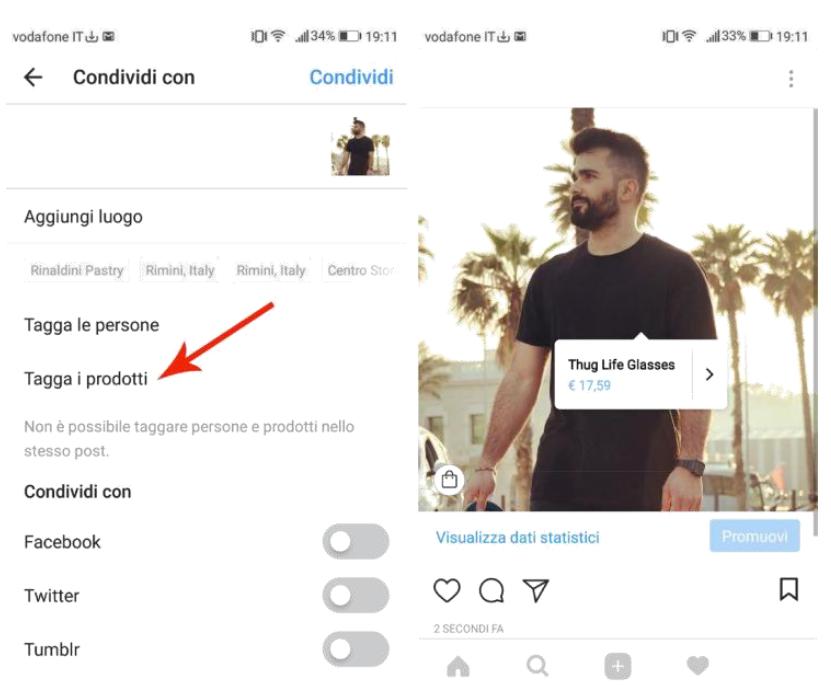 Guida Instagram Shopping
