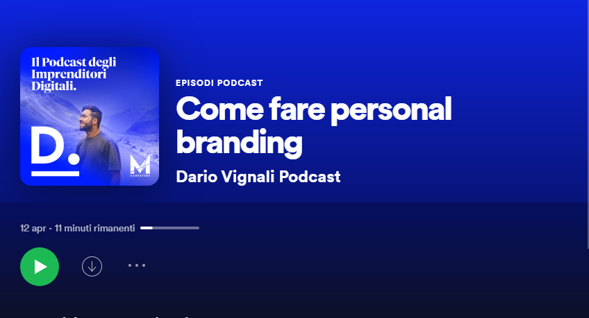 Guida Storytelling Dario Podcast