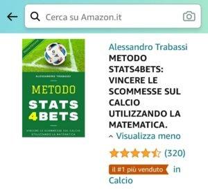 Libro Metodo Stats4Bets Amazon